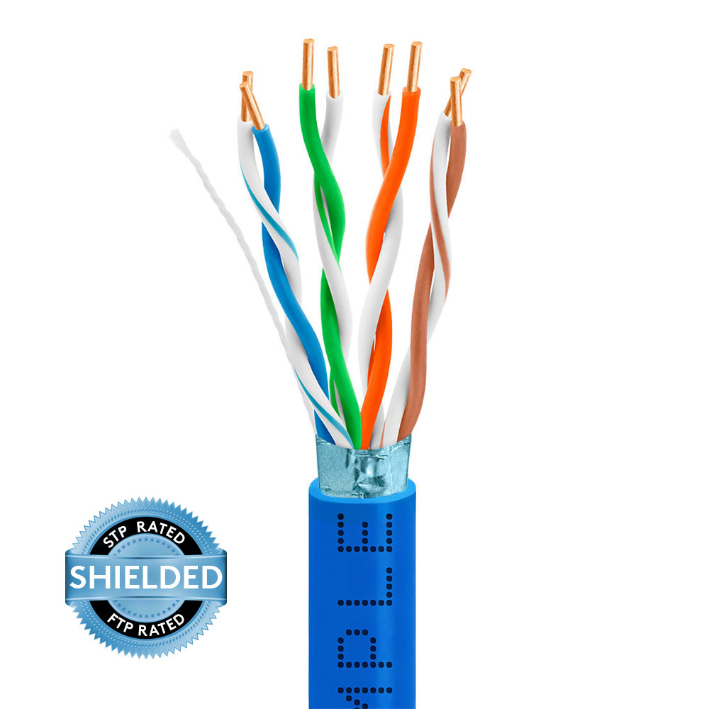 hight resolution of cat5e bulk stpftp ethernet cable 24awg bare copper