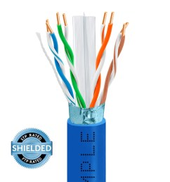 cat6 bulk stpftp ethernet cable 23awg bare copper  [ 1000 x 1000 Pixel ]