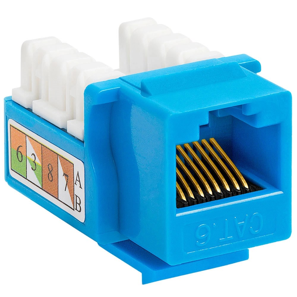 medium resolution of cat6 punch down keystone jack blue nid0010637 jpeg