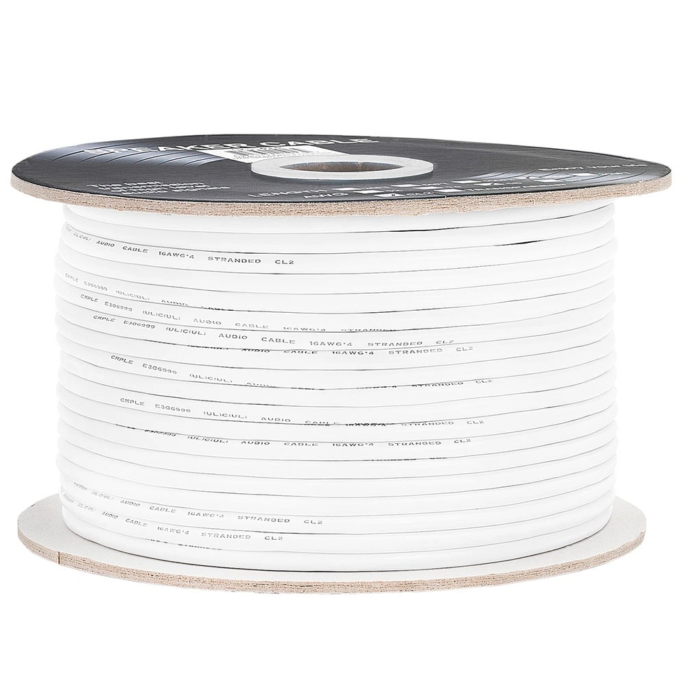 16AWG CL2-Rated Four-Conductor Loud Speaker Cable
