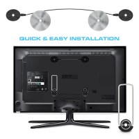 "Ultra Slim Fixed Wall Mount for 32""-55"" LED/LCD TV's"