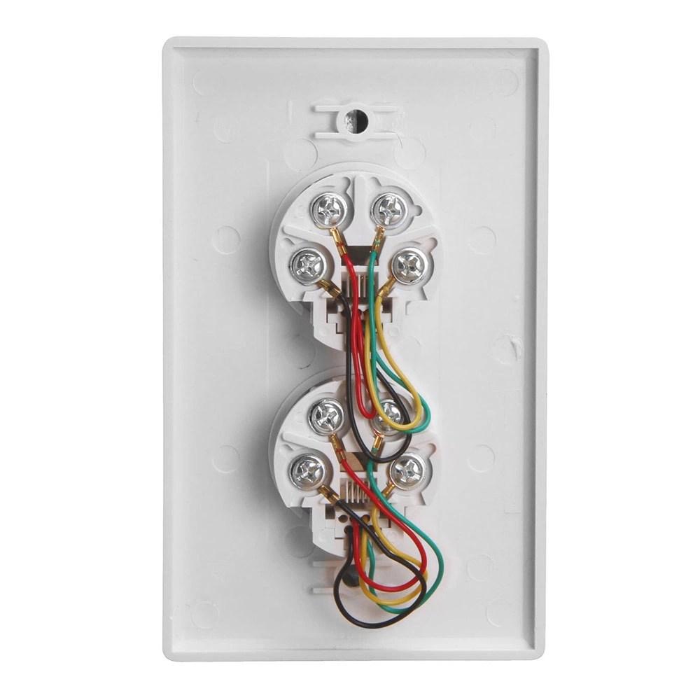 medium resolution of double phone jack wiring