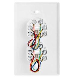 double phone jack wiring [ 1000 x 1000 Pixel ]
