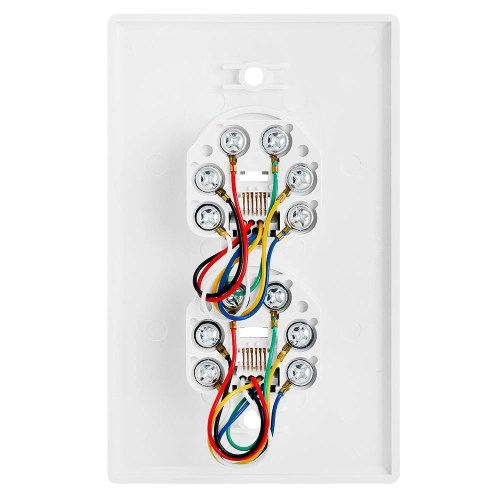 small resolution of double phone jack wiring