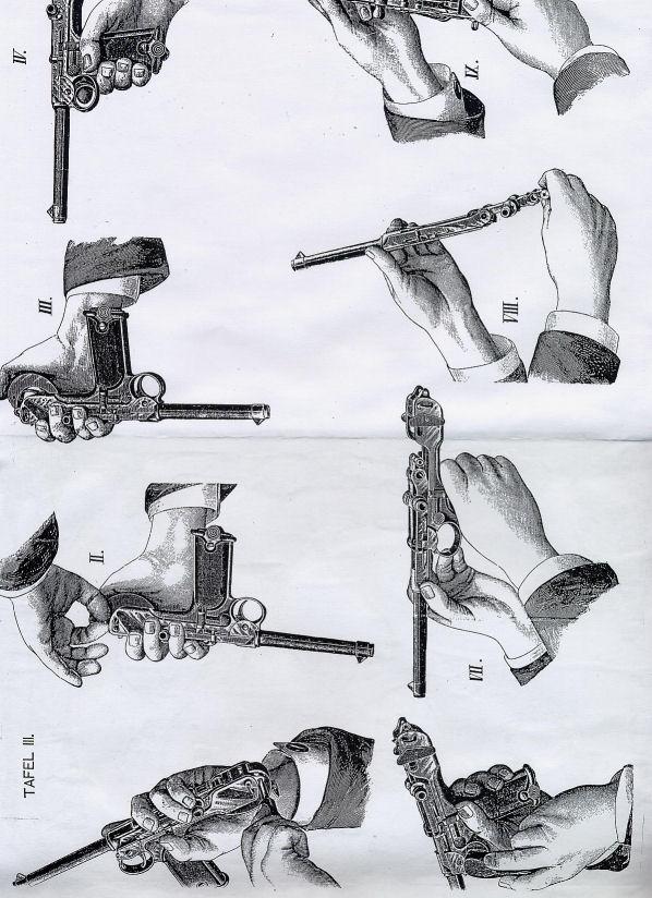 CMR Classic Firearms :: Borchardt DWM Factory Manual Ref.#W8