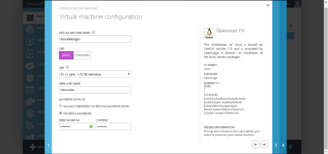 Azure Virtual Machine Setup