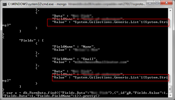 Invalid Sitecore 8 Mongo xDB drop list value record.