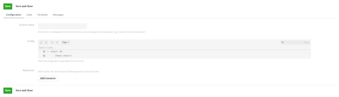 Sitecore Content Hub External Component Configuration