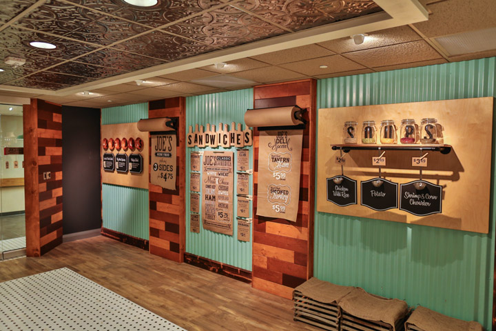 Joes Deli and Market  CMS Architectural Products