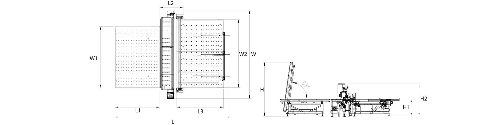 LCKM-laminated-glass-cutting-line-Layout