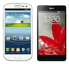 LG Optimus G v Samsung Galaxy S III