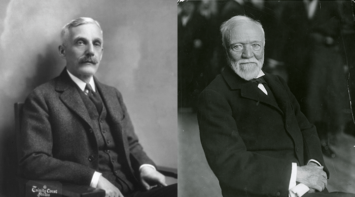 Founders Andrew Carnegie  Andrew Mellon  50 Years as