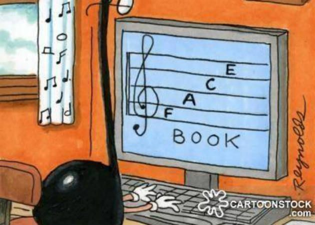 facebook musical notes