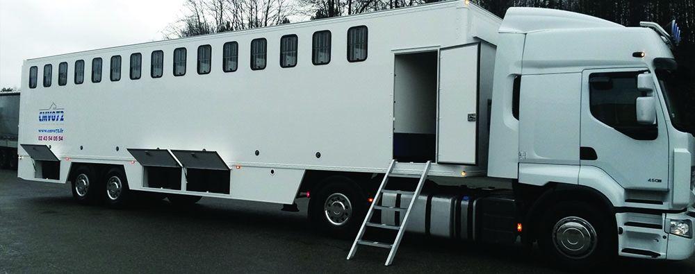 Cmvo72 Vans Chevaux Vans Pl Vl Carrossier Constructeur Equipementier