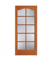 F-1580 1 Panel 10 Lite Fir French Door