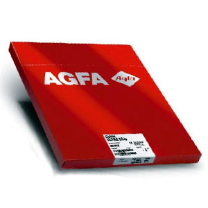 Agfa Direct Thermal Film  DT1B Blue Base  14x17in  CMX Medical Imaging