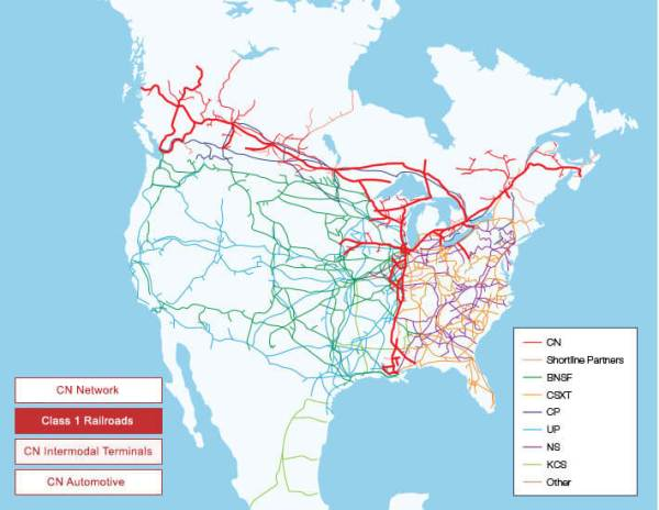 Cn Rail Map Gadgets 2018