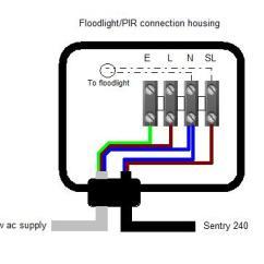 Alarm Pir Wiring Diagram Uk Rj45 Punch Down Sentry 240 Intruder Warning System