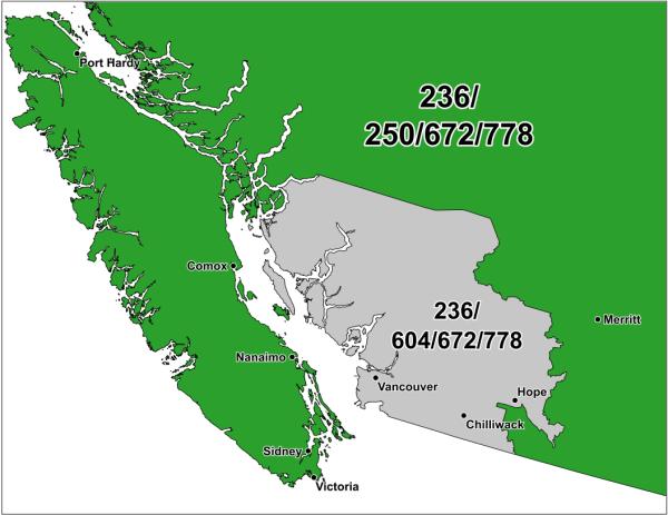 Ontario Zip Code Map - Year of Clean Water