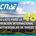 Todo listo para la 48º Convención Internacional de Autoescuelas de Oviedo 2018 (CNAE)