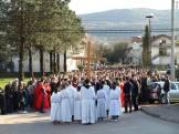 Križni put na Veliki petak u župi Kočerin