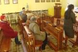 Čajniče - vjernici na Svetoj Misi