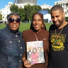 Me- Nakeesha, my mom -Sister Desiree & my brother - Michael