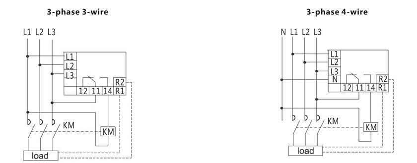 China Over-voltage Under-voltage Relay Manufacturers
