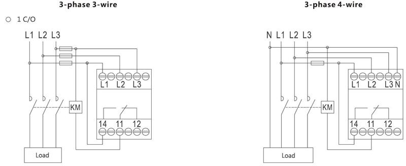 China Phase Failure Protection Voltage Relay Manufacturers