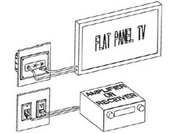 Recessed Media Box, White