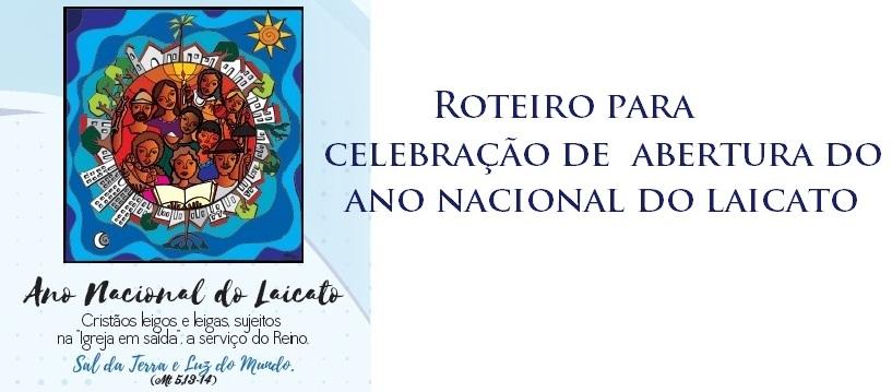 Edições CNBB disponibiliza Roteiro de  Celebração da Abertura do Ano Nacional do Laicato