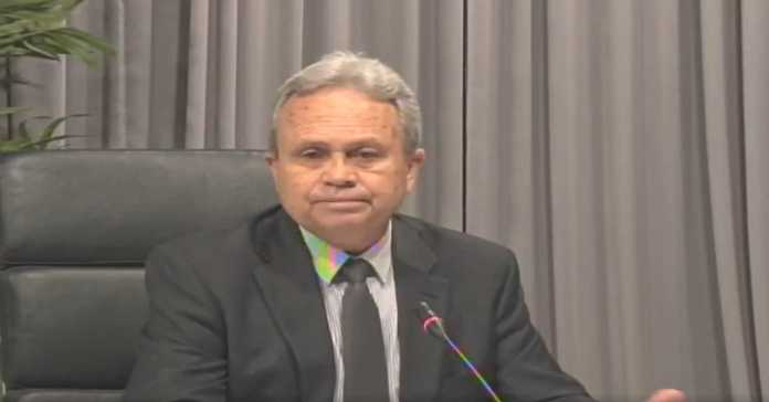 FINANCE MINISTER COLM IMBERT 12MAY2020