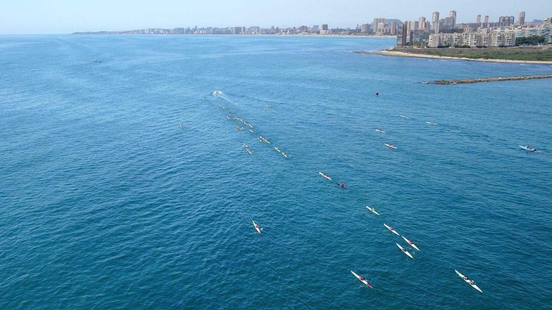 4ª Prueba Autonómica kayak de Mar - Club Náutico Campello