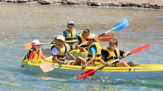 Curso de kayak - Club Náutico Campello