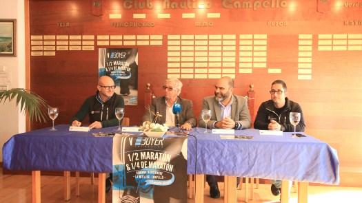 Presentación Media Maratón - Club Náutico Campello