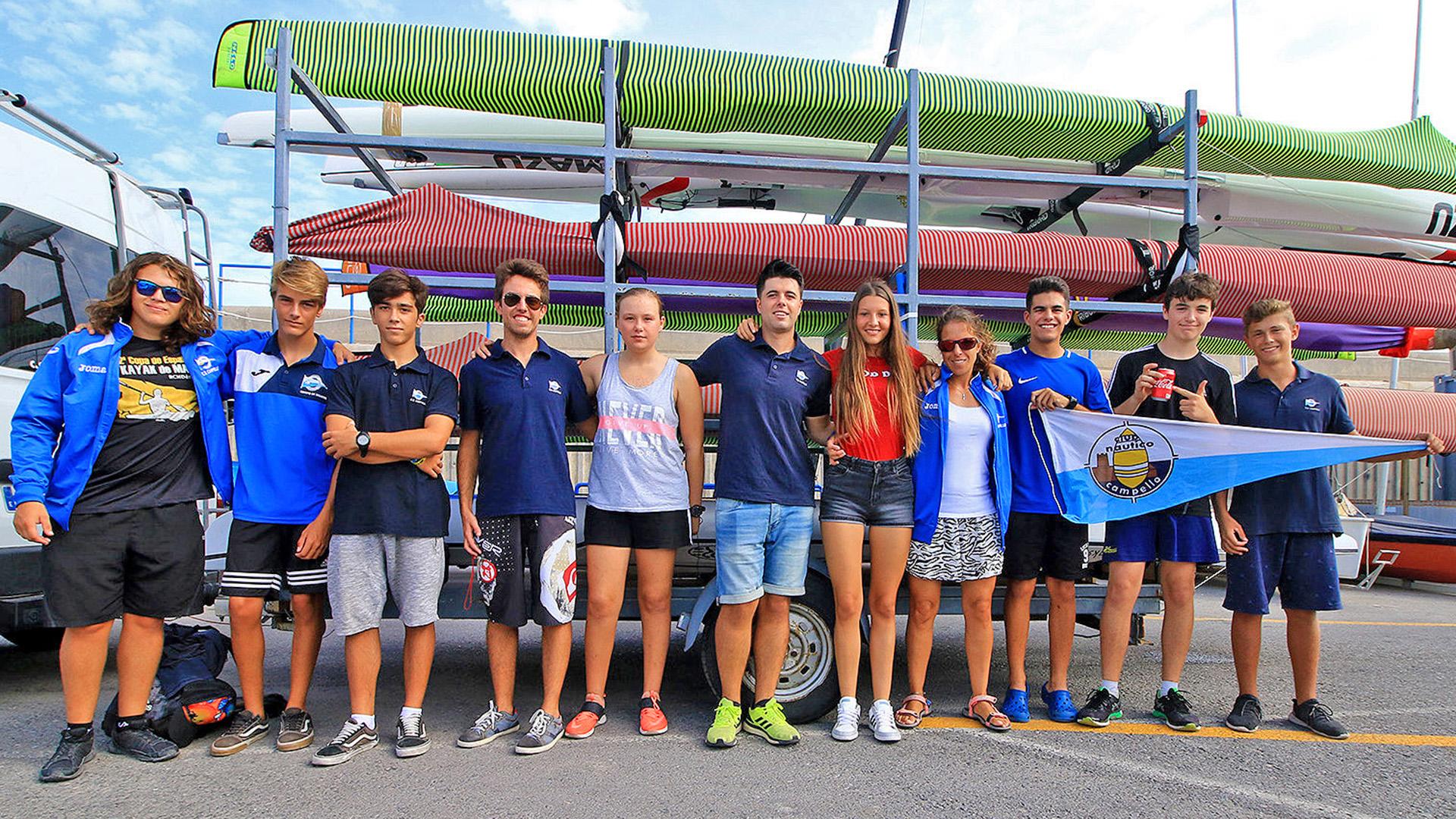 Sección Kayak de Mar - Club Náutico Campello