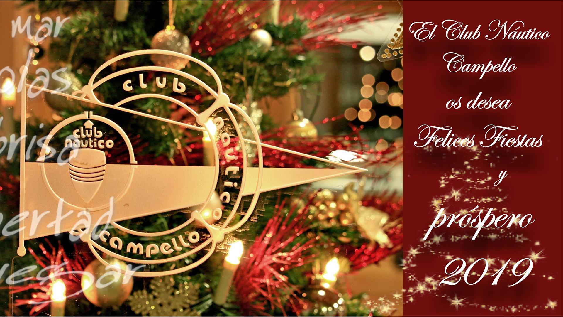 Feliz Navidad y prospero 2019