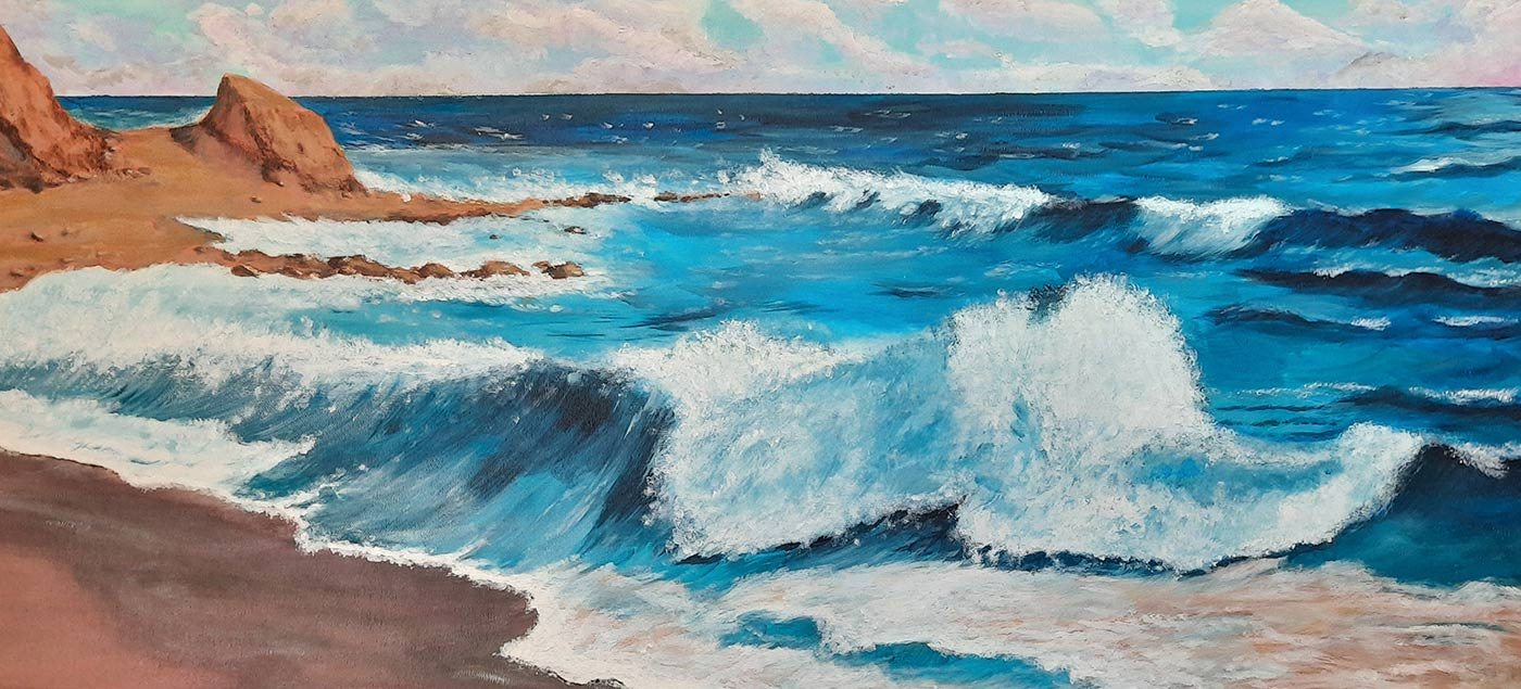 Un mar de color - Antonia María Galán
