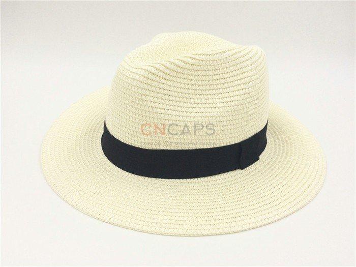 Braid straw hat