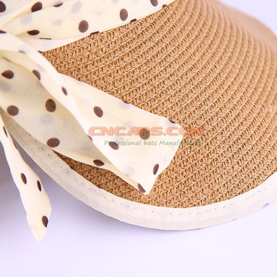foldable straw hat