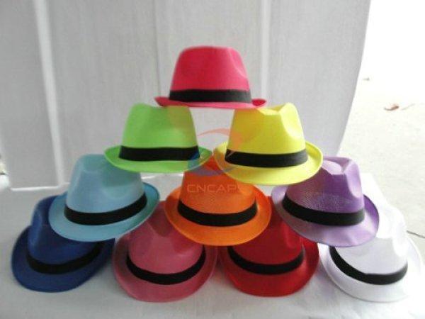 Custom fedora hat china
