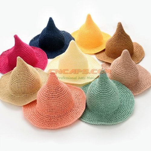 Mini straw hat