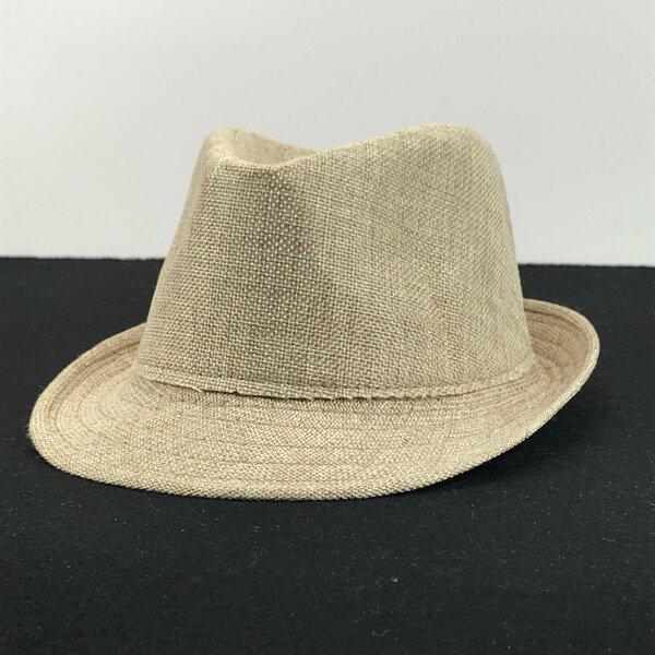 linen fedora hat manufacturer