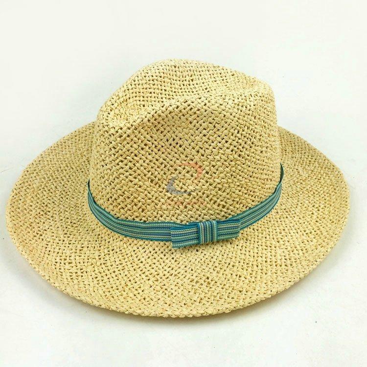 Paper panama hat for sale natural color