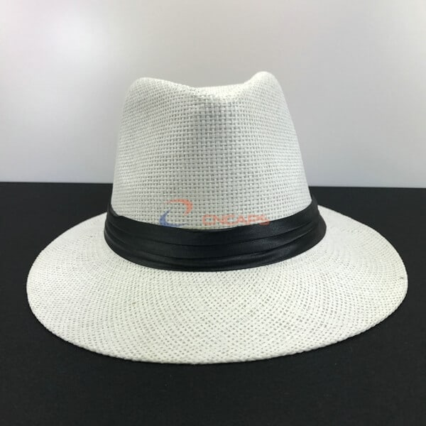 White fedora hat supplier