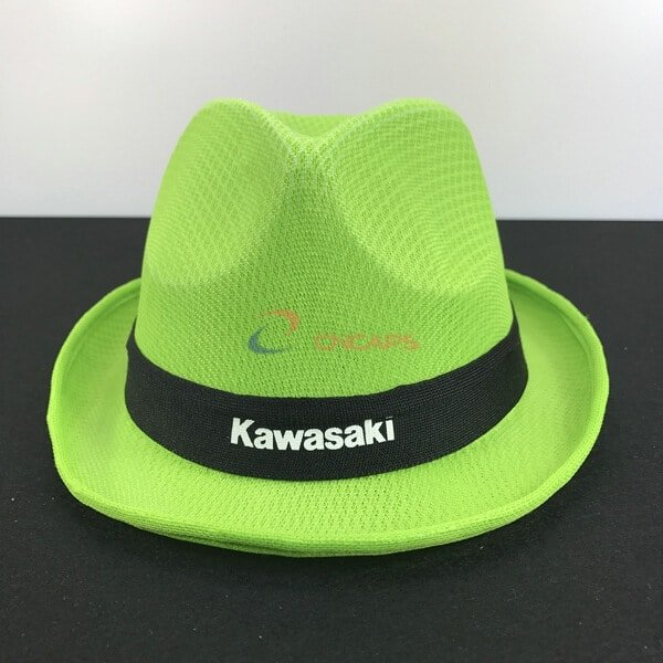 polyester fedora hat