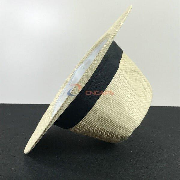 paper straw panama hat