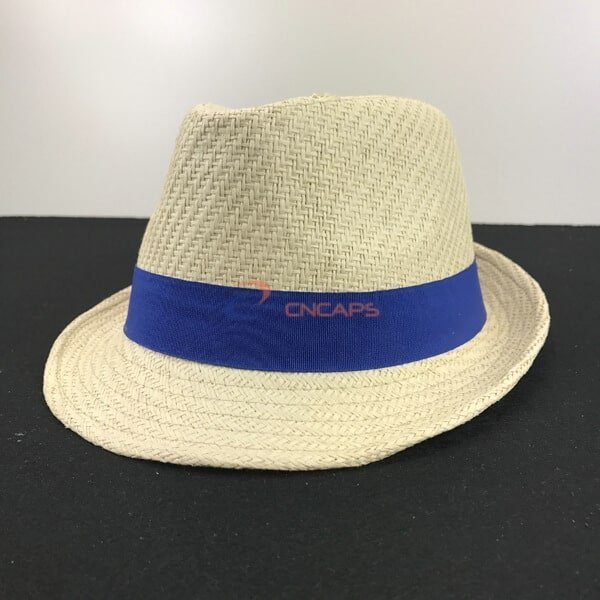 6ac19763 Fedora hat band with custom print - CNCAPS