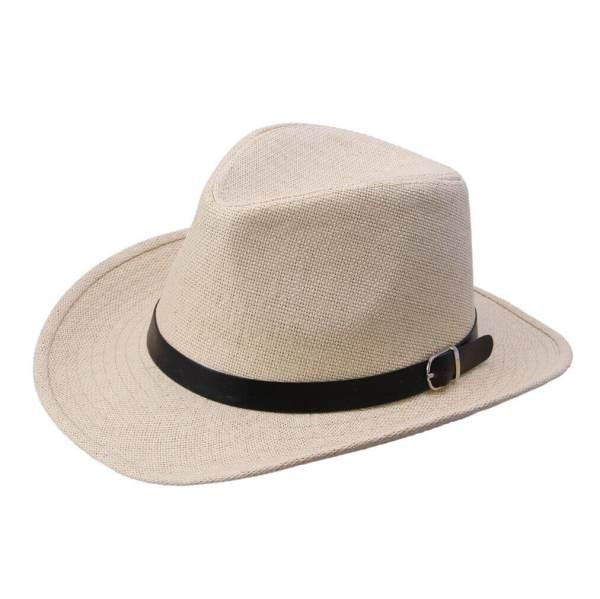 cowboy straw hat beige