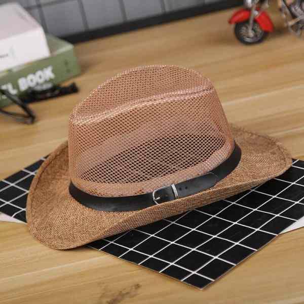 mesh cowboy hat